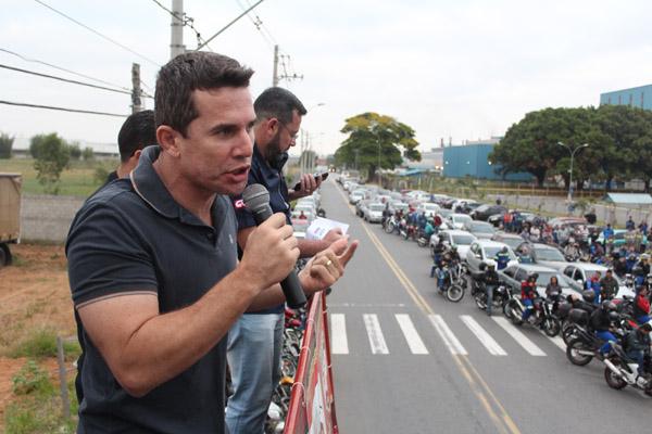 Sérgio da Silva, dirigente sindical na Novelis e secretário de Finanças do sindicato