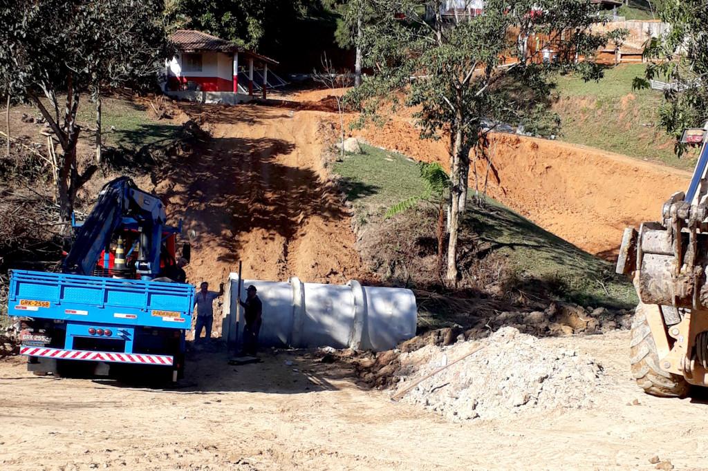 Obras de infraestrutura foram necessárias para garantir a segurança do local