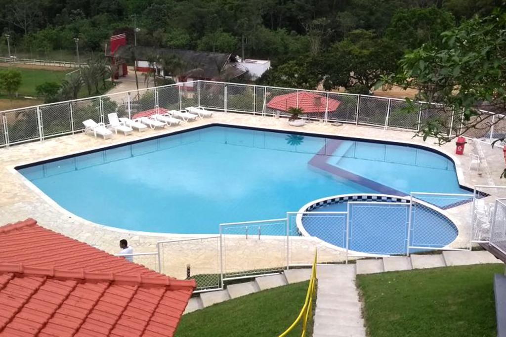 Nova piscina tem 12 bicos de hidromassagem (foto Marcelo Bitencourt - Pepeo)