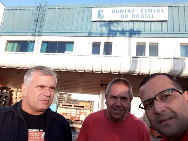 João Reimberg, João Flauzino e Luciano Tremembé