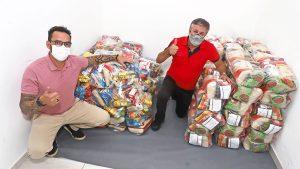 Campanha solidária do sindicato chega a 1 tonelada de alimentos