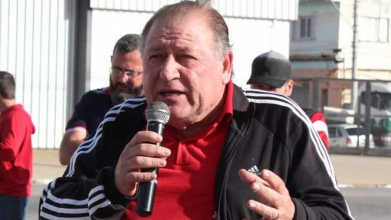 Homenagem a Renato Mamão, ex-presidente do sindicato