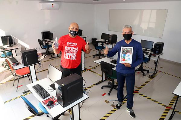 Sindicato dos Metalúrgicos retoma cursos gratuitos de informática
