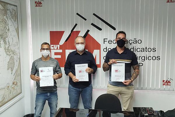 Sindicato assina Convenções Coletivas com a FEM-CUT/SP